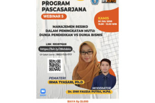 Webinar 5 Program Pascasarjana