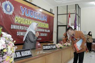 Program Pascasarjana Unikama Gelar Yudisium Semester Ganjil TA 2020/2021